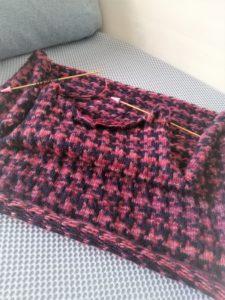 手編みワンピース